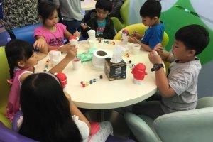 piggy bank colouring art and craft singapore