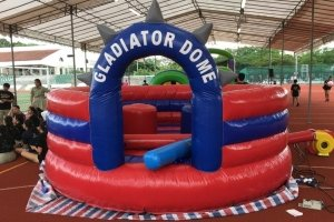 gladiator dome for rent singapore