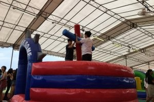 gladiator dome inflatable rental singapore