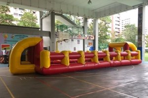 carnival school sports day inflatable interactive giant human table soccer games