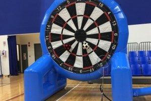 giant foot ball dart game school children day carnival rental