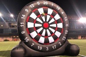 Inflatable Mega Darts Game Recreation Inflatable Soccer Dartboard Human Dart Rent in Singapore