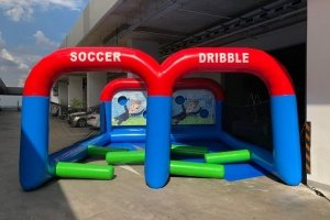soccer dribble inflatable rental singapore