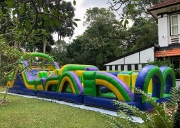 inflatable obstacle course adult bouncy castle singapore