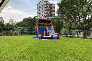 sports climb inflatable rental singapore