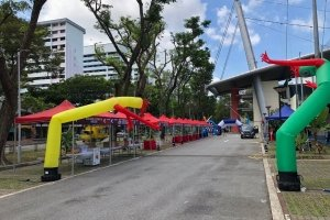 inflatable air dancer for rent singapore