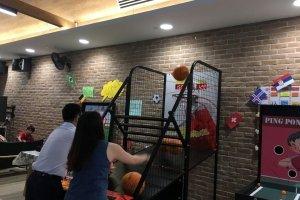 basketball machine arcade games for rent singapore