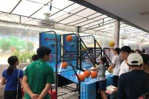 Basketball machine rental at singapore