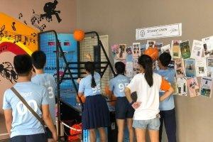 arcade machine basketball rental singapore