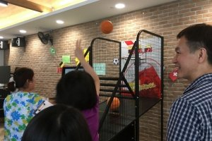 basketball arcade machine rental singapore