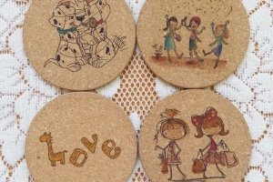 Coaster art and craft for kids singapore