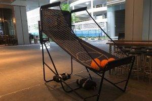 basketball hoop rental singapore