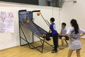 basketball hoop for rent singapore