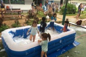 foam pool for kids rental singapore