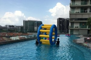 inflatable hamster wheel for kids singapore