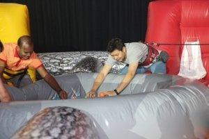 bouncy castle hippo chow down rental singapore
