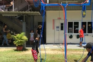 water activity hydro balloon blaster rental singapore