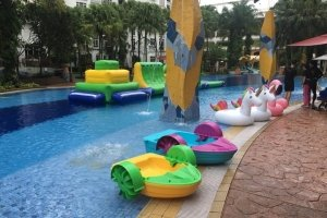 pool paddle boat rental singapore