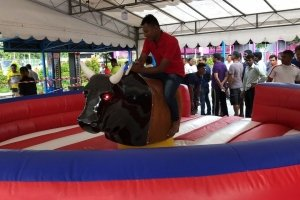 inflatable rodeo bull for rent