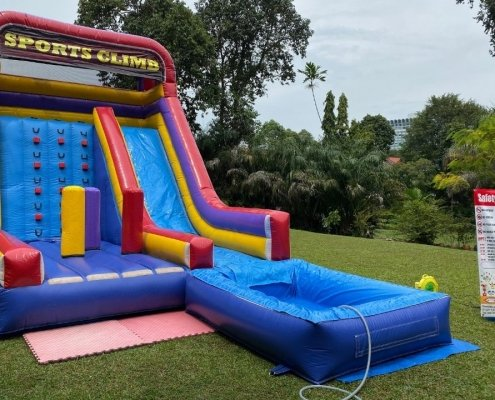 Sports Climb With Pool Rental for kids in singapore