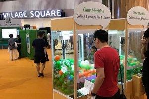 claw machine game rental singapore