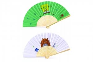 Traditional Fan colouring art and craft for kids singapore