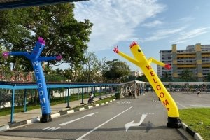 effects and decor welcome air dancer rental singapore