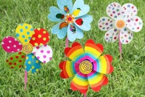 wind mill colouring for kids art and craft singapore