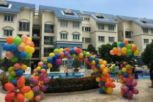 balloon arch decoration for singapore