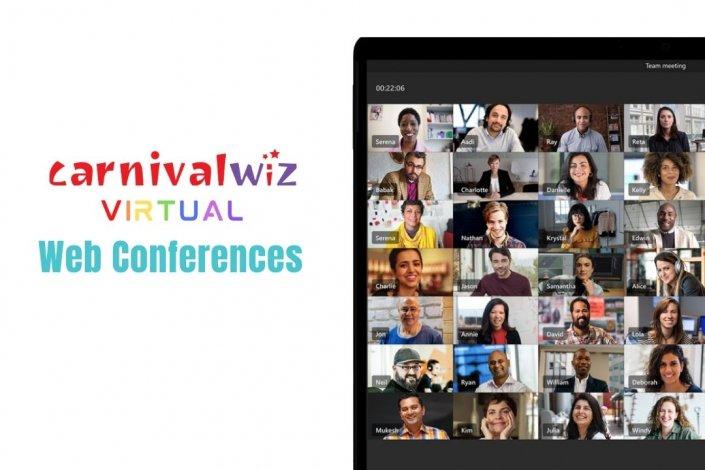 virtual event management idea company planner