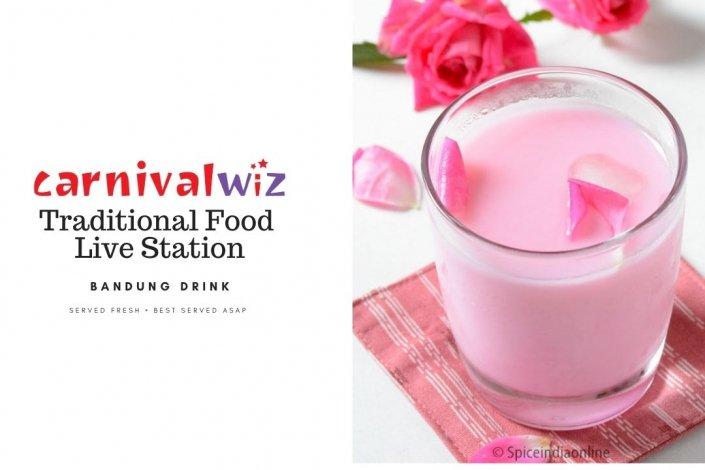 rose milk bundung