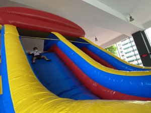 sports obstacle challenge rock climbing carnival wiz school physical games and activities